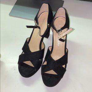 Chinese Laundry Black Platform Heels